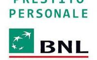 Prestiti personali BNL