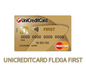Carta di credito UniCredit Flexia First