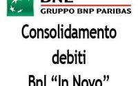 consolidamento debiti bnl
