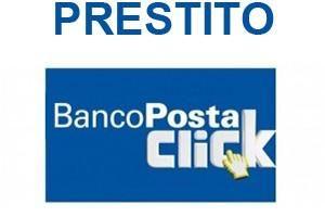 Prestito bancoposta click Findomestic