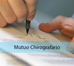 Mutuo Chirografario