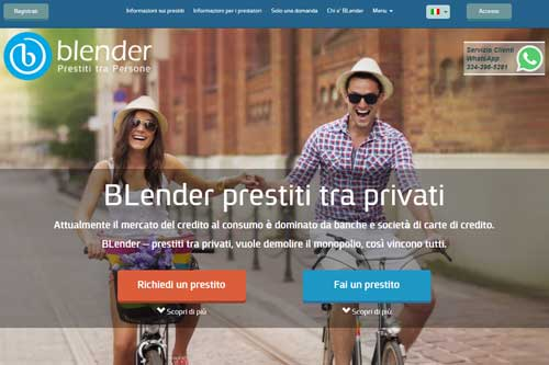 Prestiti tra privati BLender