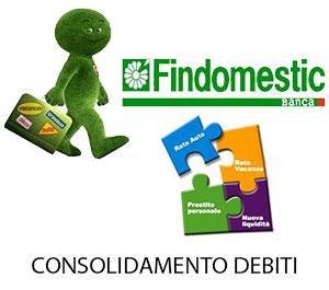 Consolidamento debiti Findomestic