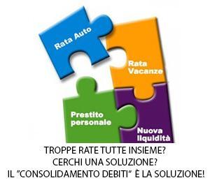 Consolidamento debiti rata unica