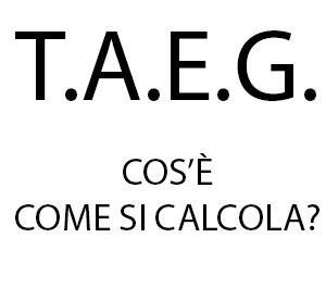 T.A.E.G. - cos'è, come si calcola