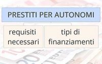 Prestiti per autonomi