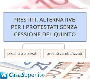 Prestiti a soggetti protestati e possibilità di senza cessione del quinto
