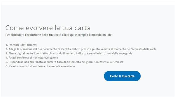 Come evolvere la tua carta PayPal