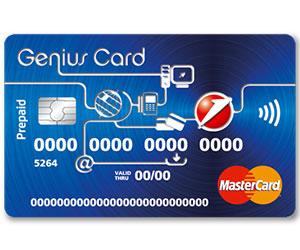 Carta prepagata con iban Genius Card
