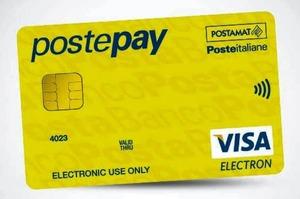 Carta prepagata Postepay standard