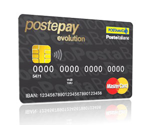 Carta Postepay Evolution Business