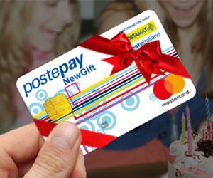 Carta prepagata Postepay NewsGift