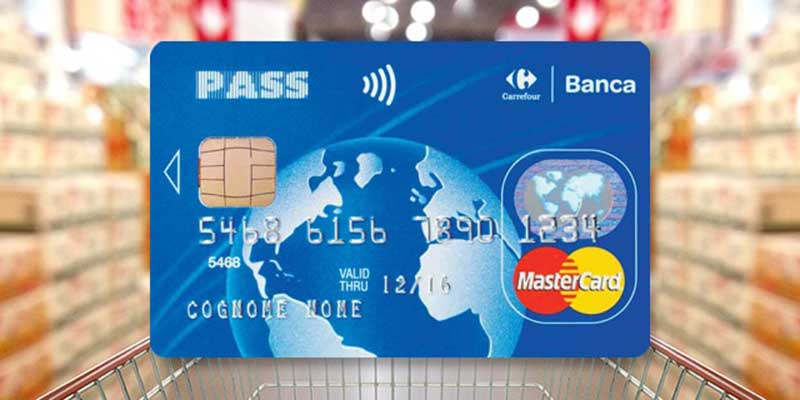 Carta Pass MasterCard Carrefour