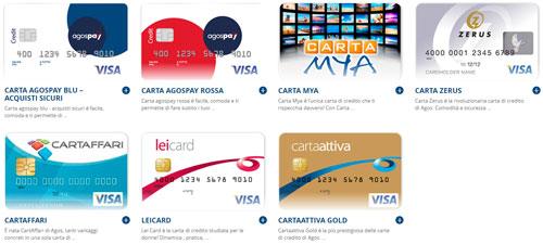 Carte di Credito Istituzionali Agos