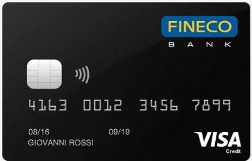 Fineco card black