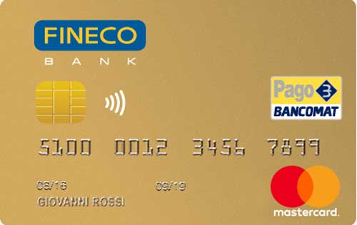 card credit gold fineco