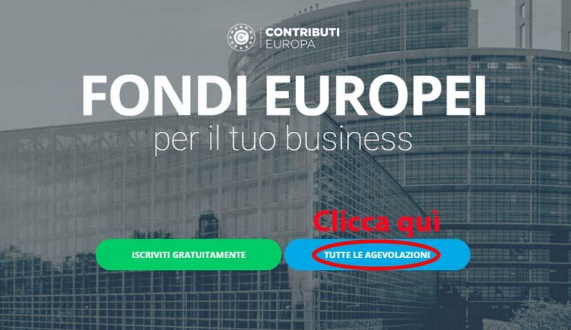 contributieuropa ricerca finanziamento step 1