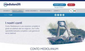 Banca Mediolanum apertura conto online