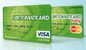 Visa Lottomaticard