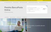 Prestito BancoPosta Online