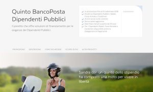 Quinto BancoPosta: cessione del quinto dipendenti pubblici