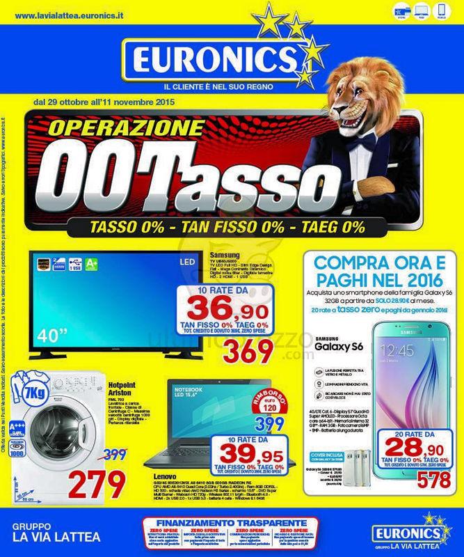 esempio euronix prestito tasso zero TAN tasso zero taeg