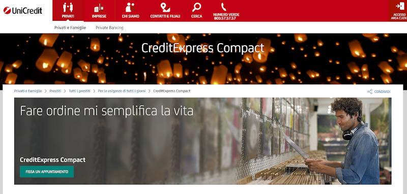 Prestito per Consolidamento debiti UniCredit