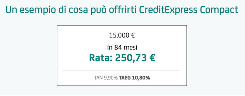 unicredit creditexpress compact