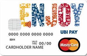 Carta prepagata Enjoy UBI Comunità Social Edition