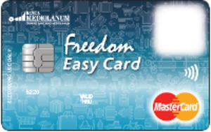 Carta prepagata Mediolanum Freedom Easy Card
